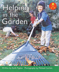 Helping in the the Garden