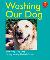 Washing Our Dog